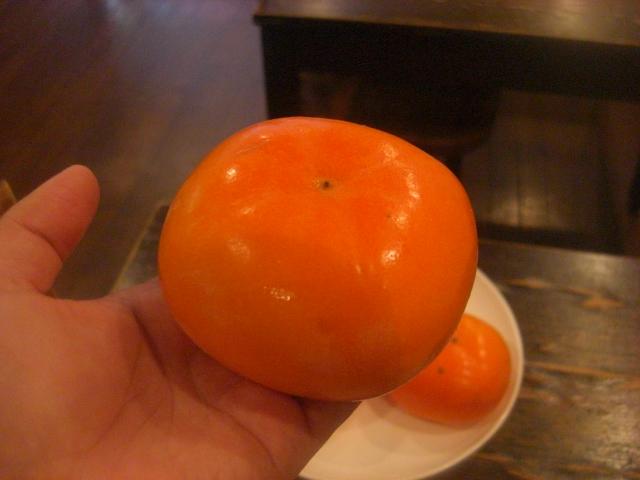 佐渡の名産・おけさ柿(八珍柿)