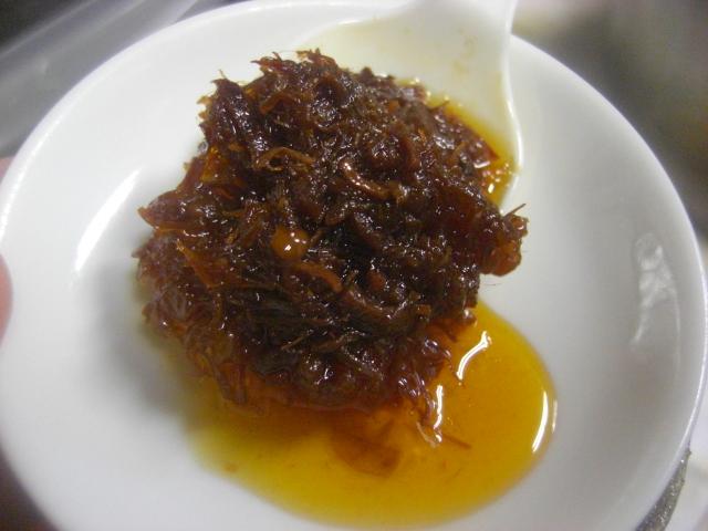 国産芥藍菜と海鮮三種の香港式XOソース炒め